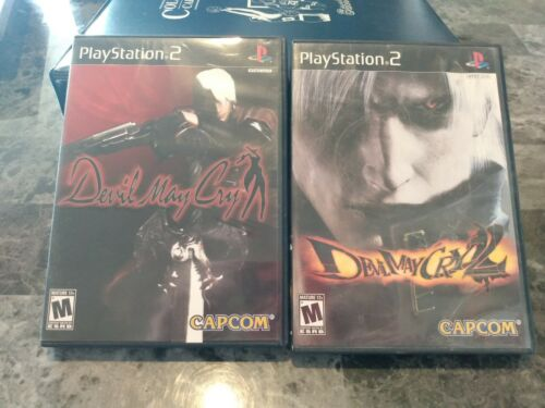 Devil May Cry 1/2 Sony PS2 Lot Complete  - $10.99