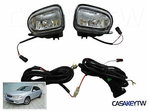 00-03 Nissan N16 Pulsar FogLights Fog Lights Lamps NEW w/SWITCH LEFT+RIGHT