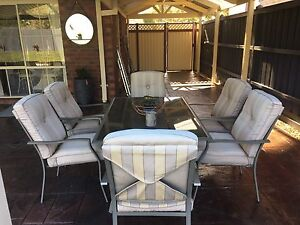 Outdoor Dining Setting 7 piece Lynbrook Casey Area Preview