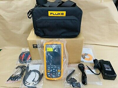 Brand New Open Box Fluke 124b Industrial Scopemeter - Fast Shipping
