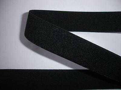 10m Gummiband 0,35€/m schwarz 22mm breit ED4