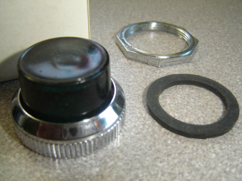 Lot of 2, Furnas 52RA4G3, Green Glass Pilot Light Lense Oil Tight Control, NIB