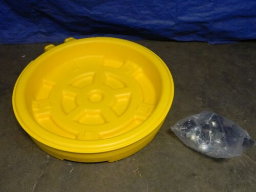 Eagle Mobile Spill Containment Wheeled Drum Tray 1613 (Incomplete)
