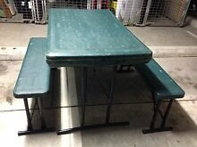 Camping table with two benches Wollongong 2500 Wollongong Area Preview