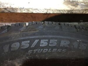 Michelin X-ICE XI3 Winter Tires 195/55R15 89H