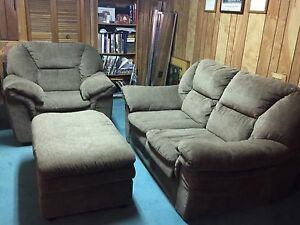 Loveseat, chair, ottoman for Sale