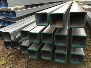 RHS Steel Posts SHS Galvanised 75 x 75 Square - 3mm and 4mm Beenleigh Logan Area Preview