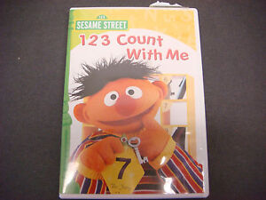 sesame street 123 count with me vhs  Sesame-Street-DVD-1-2-3-Count-...