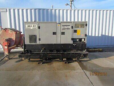 Atlas Copco Qas 48 Diesel Generator 45kw Perkins Diesel Engine