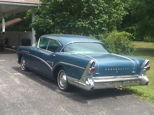 57 Buick Roadmaster Pression blue