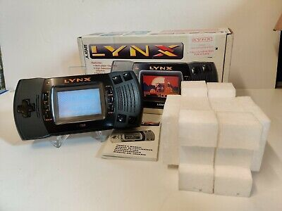 ATARI Lynx MK2 Console   Excellent Collector Condition   Perfect Working BOXED