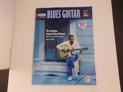 *                  BEGINNING ACOUSTIC BLUES GUITAR -CD inside SONGBOOK --CD