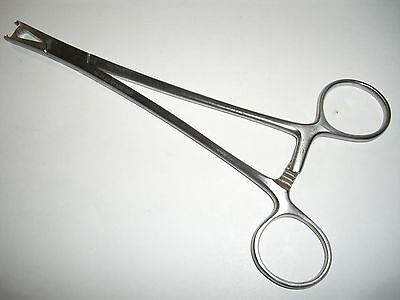 Me25 Codman 20-5120 Stainless Leroy Scalp Clip Applying Forceps Infant Size Al18