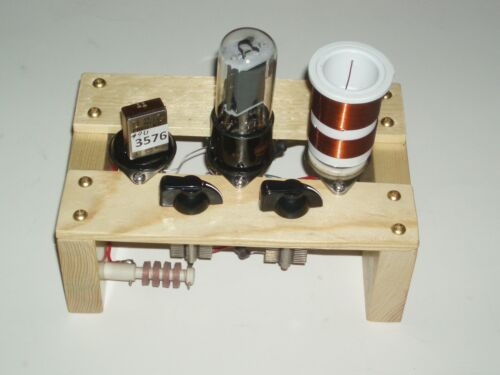 12W6  transmitter  80/40m QRP  CW