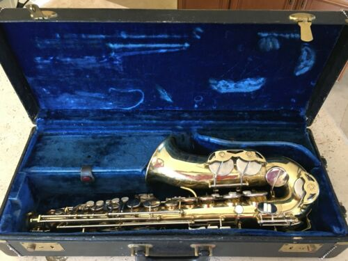 The Parisian Ambassador for F.E. OLDS and SON 1960s Vintage Saxophone