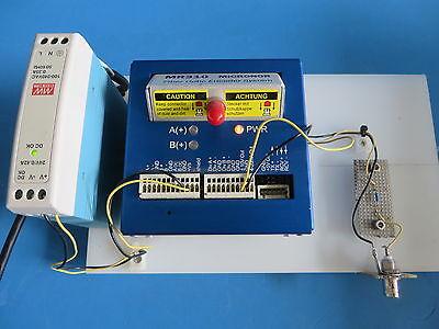 Micronor Mr310 Fiber Optic Encoder Controller Module W 24v Power Supply