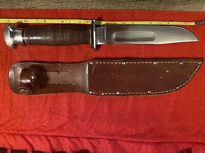Vintage Robeson Shuredge No.21 Fixed Blade Knife