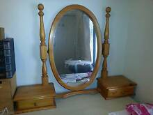 Pine Duchess dressing table mirror with side drawers Innaloo Stirling Area Preview