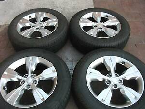 4x4  sport mags 18 inch with 4 brand new tyres 235/60/18 Ballajura Swan Area Preview