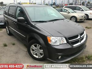 2017 Dodge Grand Caravan Crew | LEATHER | CAM | ONE OWNER