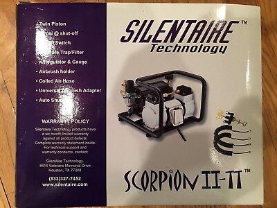 Silentair Scorpion Ii-tt Ultra-quite Compressor New In Box 16th Hp 110 Volt