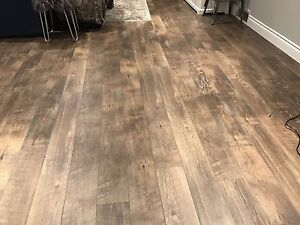 Beaulieu laminate flooring and trim