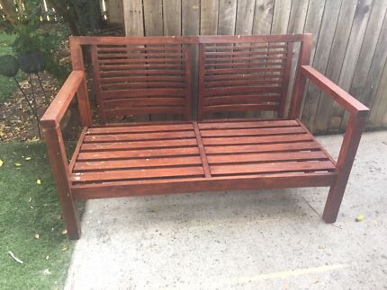 Cast Iron Outdoor Bench Seat Ends   Lounging   Relaxing Furniture   Gumtree  Australia Logan Area   Beenleigh   1161219980Cast Iron Outdoor Bench Seat Ends   Lounging   Relaxing Furniture  . Outdoor Bench Seats Gumtree. Home Design Ideas