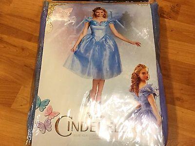 Deluxe Cinderella Dress (NEW LARGE Disney Cinderella Dress Adult Costume Deluxe Cosplay Women's)