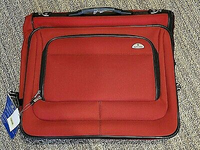 NWT Samsonite Ambition Utravalet Garment Luggage Bag - Red - Local pick up only