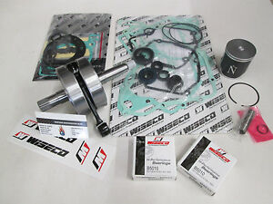 SUZUKI RM 125 ENGINE REBUILD KIT CRANKSHAFT, PISTON, GASKETS 2001-2003