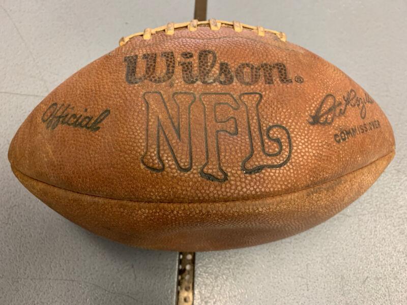 Vintage Wilson Official NFL Pete Rozelle Football