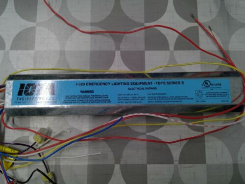 Iota I-320 TBTS Series Emergency Ballast **Free Shipping**