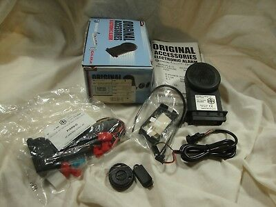 Genuine Vespa 602688M Electronic Alarm system kit with install harness LX 150