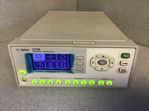 AGILENT / KEYSIGHT 11713B Attenuator / Switch Driver