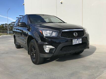 2013 SsangYong Actyon sports Turbo diesel Automatic Newport Hobsons Bay Area Preview