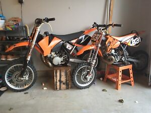 KTM competition dirt bikes for sale