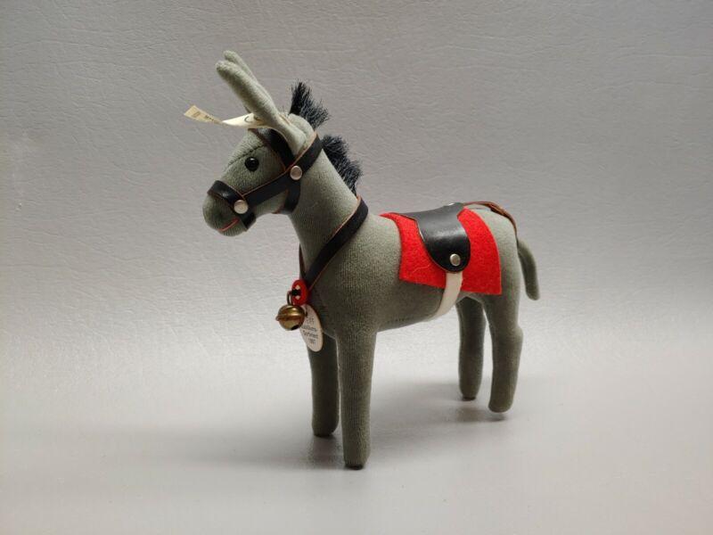 """Steiff 1997 Jubilee donkey 400285 w/ tags ids 6 1/2"""""""
