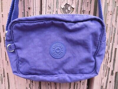 Kipling purple crossbody bag purse