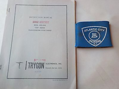 Trygon Model S300-800 300 Series Power Supply Instruction Manual