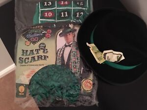 Adult High Roller hat and scarf