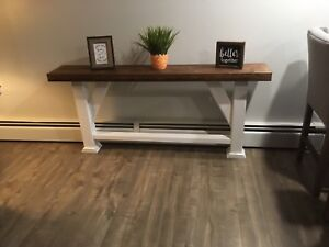 5 Ft Rustic Accent Table