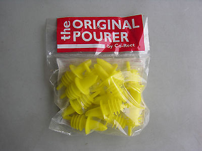 12 Pourers Yellow Free Shipping Us Only