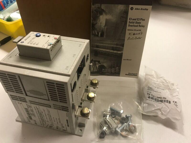 Allen-Bradley 193-EC1GF Overload Relay 42 - 210amp, New U.S. Inventory