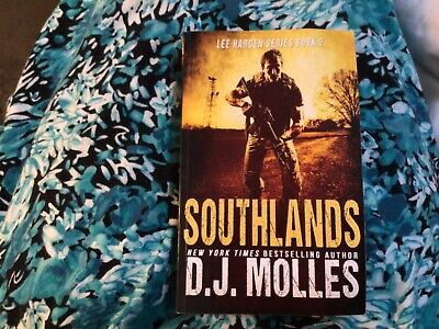 DJ Molles Lee Harden Series Book 2 Southlands Free Shipping