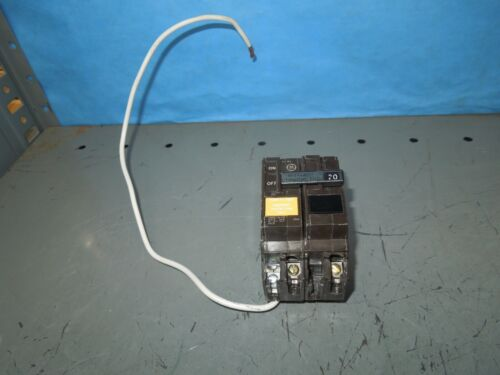Ge Thqb2120gfep 20a 2p 240v Ground Fault Equipment Protected Breaker Used