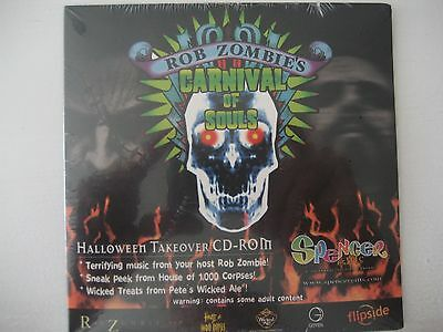 Rob Zombie's Carnival Of Souls Halloween Takeover CD-ROM Spencer Gifts EXCLUSIVE