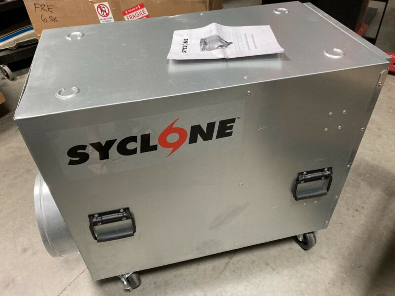 Syclone, Negative Air Machine Air Scrubber With Filters FA-SYCLONE SB