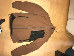 Oneil winter jacket and under armour down jacket