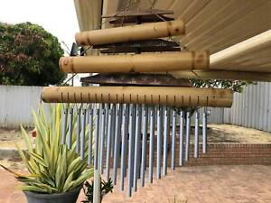 home outdoor wind chimes