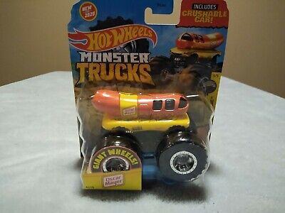 Hot Wheels Monster Truck ⭐ Oscar Mayer ⭐ Connect & Crash RARE~NEW